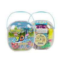 智高3D彩泥12色三D玩具套装KK5033昆虫模具