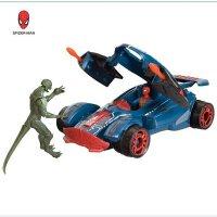全店满99包邮!凡蜘蛛侠 出击战车可弹射蜘蛛侠可动人偶模型 对决套装男孩玩具
