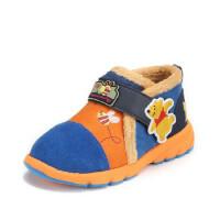鞋柜SHOEBOX冬款保暖男童简约舒适休闲鞋
