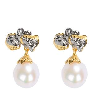 戴和美珠宝首饰耳饰 精选珍珠个性耳环