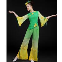 秧歌服2016新款茉莉花舞蹈服装女古典舞民族舞广场舞扇子舞演出服