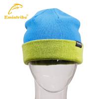 【三件99元】渔民部落运动配件户外保暖帽子男秋冬 针织帽护耳帽滑雪帽加厚 125109