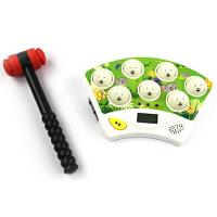 五星玩具 婴儿玩具音乐电动打地鼠游戏机熊出没打地鼠 宝宝玩具儿童益智玩具 六一儿童节生日礼物必备