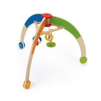 Hape 婴儿健身架 0-1岁儿童玩具 益智早教创意床铃 E0032