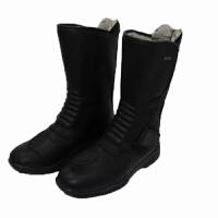 ARCX TOURING BOOTS 黑色公路摩托车赛车靴子越野防水高筒靴