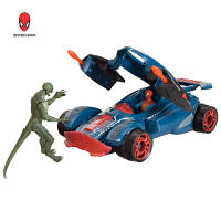 蜘蛛侠 出击战车可弹射蜘蛛侠可动人偶模型 对决套装男孩玩具