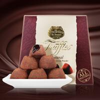 【顺丰速运+冰袋+泡沫箱】乔慕Truffles 进口松露巧克力1kg 加拿大进口巧克力礼盒 大自然原味松露礼盒礼物休闲零食圣诞礼物