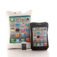 咔噜噜 iPhone5靠垫抱枕靠枕创意苹果手机iPhone4s枕头 情人节礼物