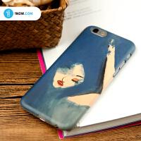 「玩闹智造」原创设计日韩女iPhone6s/6Plus个性手绘手机壳包邮