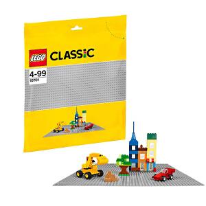 [当当自营]LEGO 乐高 CLASSIC经典创意系列 灰色底板 积木拼插儿童益智玩具 10701