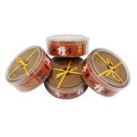 檀香盘香天然熏香佛香驱蚊驱虫驱除异味剂艾草盘香熏香驱蚊 4盒用480小时