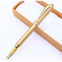 专柜HERO/英雄963纯黑/土豪金色 铱金钢笔礼品墨水笔