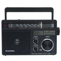 【当当自营】 熊猫/PANDA T-09 三波段 USB插卡数码播放 交直流两用便携式收音机
