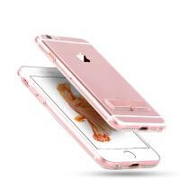 TOTU 苹果6Plus手机壳硅胶iPhone保护套6s透明六P支架5.5女款全包