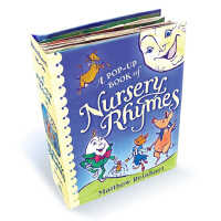 预售 BOOK OF NURSERY RHYMES儿歌  英文原版儿童故事集 立体书