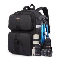 2015双肩摄影包大容量 防盗防水单反包索尼相机包双肩 佳能相机包户外休闲旅行运动背包
