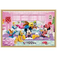 迪士尼英语拼图 300片拼图玩具 米奇快乐伙伴300片拼图 DP04-29
