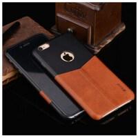 宾丽 贴皮手机壳保护套适用于iphoe6/iphone6s/6 plus V型纤薄手机壳 苹果6s皮套手机壳 苹果6plus 手机套