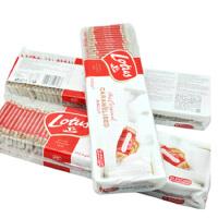 进口零食 比利时原装Lotus和情焦糖饼干312.5g独立包装50片