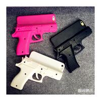 【包邮】智尚 潮款iPhone6手枪手机壳 苹果6Plus手机套4S/5/5S个性创意