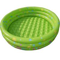 圆形三环充气游泳池加大加厚保温洗澡盆环保 婴儿儿童安全健康环保更贴心游泳池 130*42CM