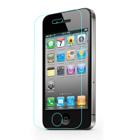 【包邮】确悦 iPhone4S钢化膜 苹果4S玻璃防爆贴膜 抗蓝光指纹高清薄