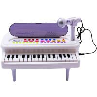 欧锐 益智玩具 玩具琴 电子钢琴玩具 8种伴奏16种音乐 儿童乐器附送话筒6651