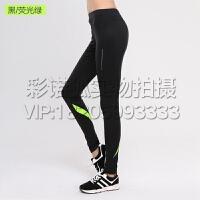 速干健身裤女运动裤夏季薄款跑步训练瑜伽紧身裤女弹力压缩打底裤