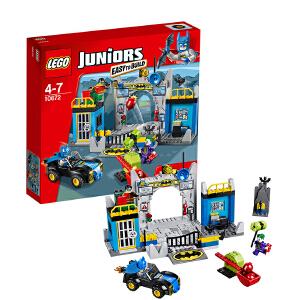 [当当自营]LEGO 乐高 小拼砌师系列 蝙蝠侠?之保卫蝙蝠洞 积木拼插儿童益智玩具 10672