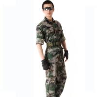 武警真人cs07多袋林地丛林通用迷彩服男套装特种兵迷彩服户外休闲野战作训战术军迷服饰男装备丛林迷彩
