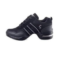 雷博现代舞鞋舞蹈鞋增高运动鞋软底爵士舞鞋透气网面跳舞鞋
