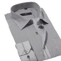 秋冬男士衬衫  棉长袖男式衬衣 商务休闲衬衫男职场男士正装西服衬衫