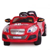 群兴儿童电动车童车四轮遥控可坐电动汽车跑车宝宝车玩具车