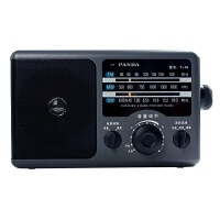 【当当自营】 熊猫/PANDA T-16 三波段 交直流两用便携式收音机