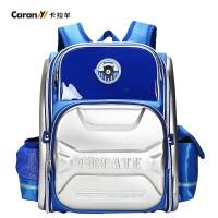 卡拉羊新款小学生书包男女2-5年级减负背包韩版儿童双肩包CX2638