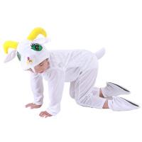 宝宝表演儿童演出服女跳舞蹈衣冬小山羊动物造型服装套装男春秋季