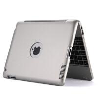 IKODOO 苹果iPad2/3/4无线蓝牙键盘保护套 内置4000毫安移动电源 ipad4充电宝键盘 New ipad3保护套 ipad2保护壳 9.7英寸键盘 充电宝键盘