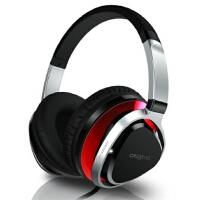 创新(Creative) Aurvana Live!2 头戴式耳麦 红色 经典耳机升级版,生物振膜,还原真实自然声音
