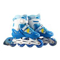 全套闪光直排轮溜冰鞋旱冰鞋轮滑鞋儿童可调节护具