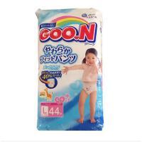 【当当海外购】大王GOO.N拉拉裤(女)  新生婴幼儿贴身洗护纸尿裤 L44大码(9-14kg)44片