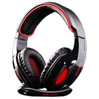 赛德斯 SA-902 USB声卡带麦克风7.1声道 有线游戏耳机耳麦