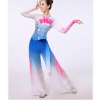 2016新款秧歌服中老年广场舞扇子舞古典舞舞蹈服装演出服女夏