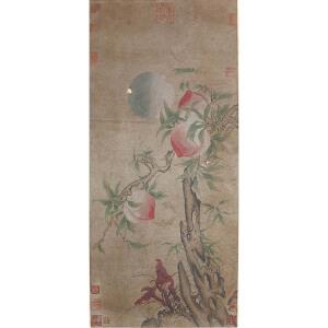 1484     许迪《福寿图》