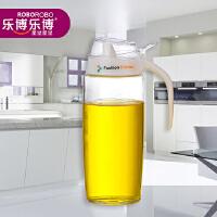 爱丽斯防漏健康玻璃油瓶--水晶白(500mL)