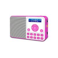 【当当自营】 熊猫/PANDA DS-172 数码音响播放器 插卡音箱 立体声收音机 红色