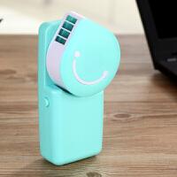 迷你创意个性空调小风扇USB制冷可充电便携式学生手持无叶时尚电风扇