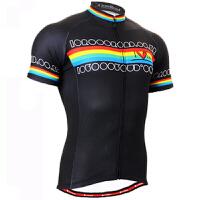 男士夏款自行车骑行服短袖套装吸湿排汗透气耐磨速干赛车服户外运动健身服
