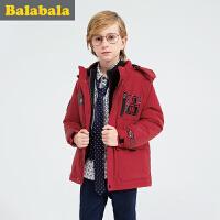 巴拉巴拉童装男童棉衣中大童学生上衣2016冬装新款儿童棉 袄外套男