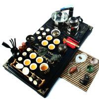 尚帝 整套功夫茶具 陶瓷茶具茶盘套装 电磁炉实木茶盘Z-D41B672V