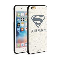 宾丽手机壳3D立体彩绘防摔卡通动漫软壳套适用于iPhone6plus6splus55英寸菱格超人